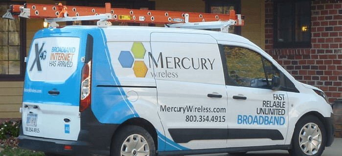 Mercury Wireless Service Van